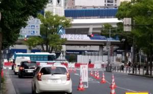 横浜球場警備2